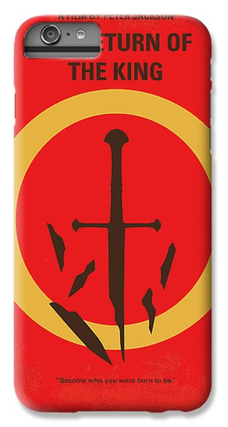 Lord iPhone 8 Plus Case - No039-3 My Lotr 3 Minimal Movie Poster by Chungkong Art