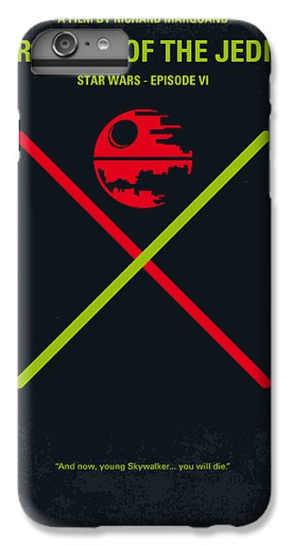 Knight iPhone 8 Plus Case - No156 My Star Wars Episode Vi Return Of The Jedi Minimal Movie Poster by Chungkong Art