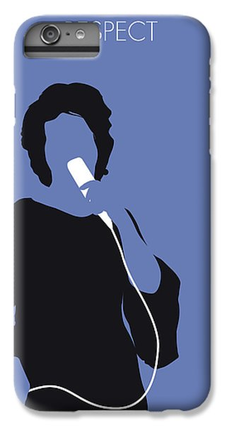 Rhythm And Blues iPhone 8 Plus Case - No188 My Aretha Franklin Minimal Music Poster by Chungkong Art