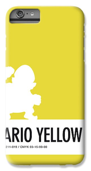 Daisy iPhone 8 Plus Case - No43 My Minimal Color Code Poster Wario by Chungkong Art