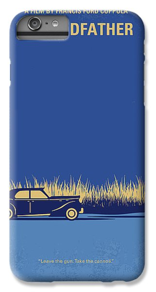 The iPhone 8 Plus Case - No686-1 My Godfather I Minimal Movie Poster by Chungkong Art