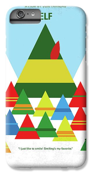 Elf iPhone 8 Plus Case - No699 My Elf Minimal Movie Poster by Chungkong Art
