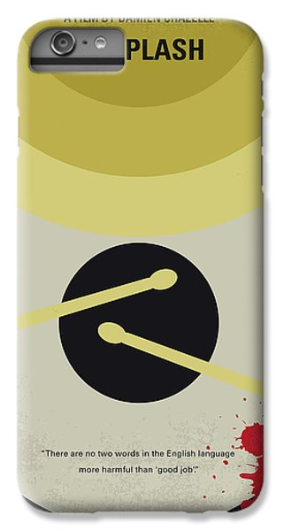 Drum iPhone 8 Plus Case - No761 My Whiplash Minimal Movie Poster by Chungkong Art