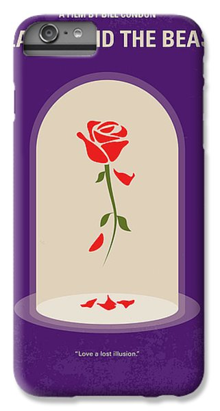 Fairy iPhone 8 Plus Case - No878 My Beauty And The Beast Minimal Movie Poster by Chungkong Art