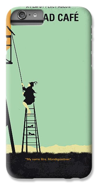 Magician iPhone 8 Plus Case - No964 My Bagdad Cafe Minimal Movie Poster by Chungkong Art