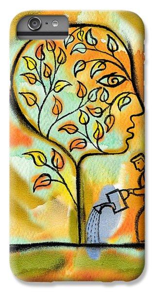 Garden iPhone 8 Plus Case - Nurturing And Caring by Leon Zernitsky