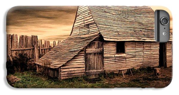 New England Barn iPhone 8 Plus Case - Old English Barn by Lourry Legarde