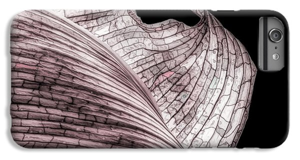 Orchid iPhone 8 Plus Case - Orchid Leaf Macro by Tom Mc Nemar