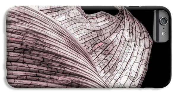 Orchid iPhone 8 Plus Case - Orchid Leaf Macro by Tom Mc Nemar