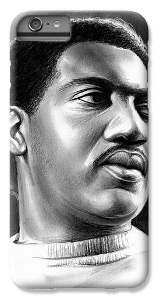 Rhythm And Blues iPhone 8 Plus Case - Otis Redding by Greg Joens