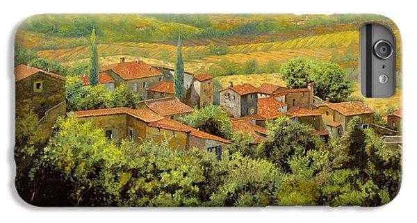 Landscapes iPhone 8 Plus Case - Paesaggio Toscano by Guido Borelli