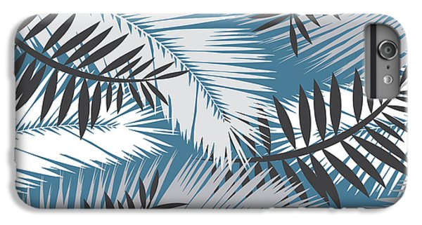 Flowers iPhone 8 Plus Case - Palm Trees 10 by Mark Ashkenazi