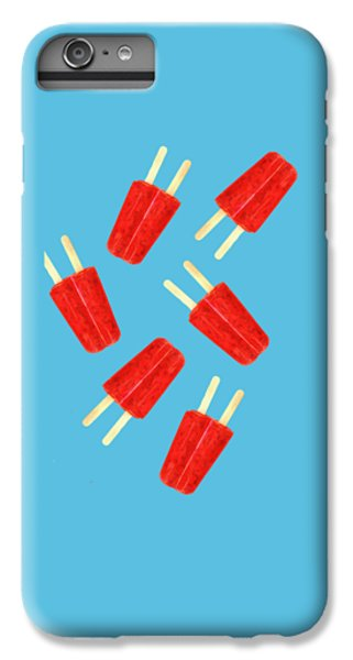 Red iPhone 8 Plus Case - Popsicle T-shirt by Edward Fielding