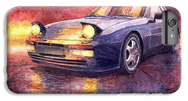 Car iPhone 8 Plus Case - Porsche 944 Turbo by Yuriy Shevchuk