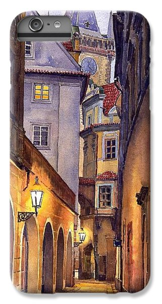 City Scenes iPhone 8 Plus Case - Prague Old Street  by Yuriy Shevchuk