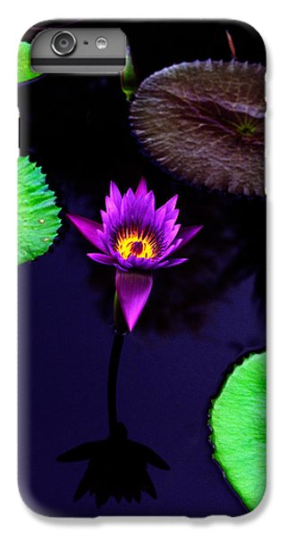 Lily iPhone 8 Plus Case - Purple Lily by Gary Dean Mercer Clark
