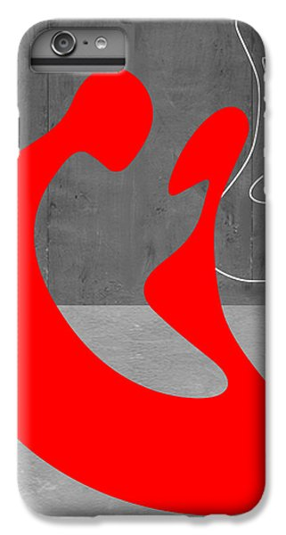 Red iPhone 8 Plus Case - Red Couple by Naxart Studio