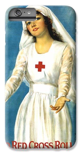 Cross iPhone 8 Plus Case - Red Cross Nurse - Ww1 by War Is Hell Store