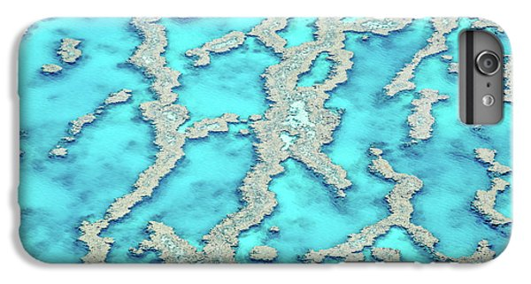 Helicopter iPhone 8 Plus Case - Reef Patterns by Az Jackson
