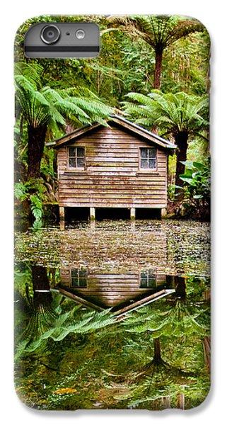 Shrub iPhone 8 Plus Case - Reflections On The Pond by Az Jackson