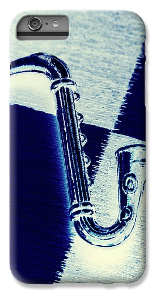 Saxophone iPhone 8 Plus Case - Retro Blues by Jorgo Photography - Wall Art Gallery