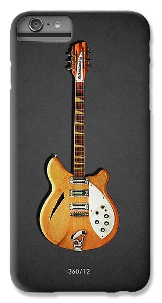 Guitar iPhone 8 Plus Case - Rickenbacker 360 12 1964 by Mark Rogan