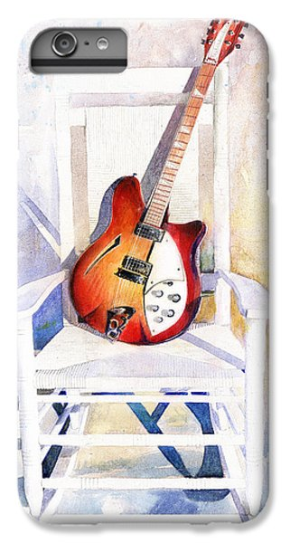Guitar iPhone 8 Plus Case - Rock On by Andrew King