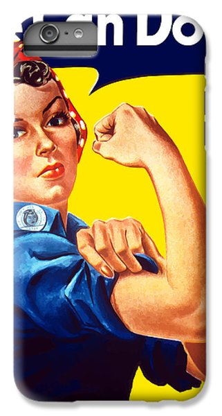 The iPhone 8 Plus Case - Rosie The Rivetor by War Is Hell Store