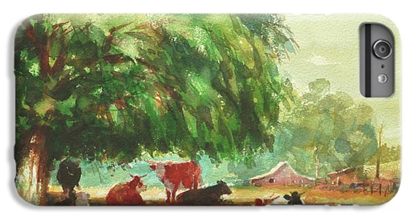 Cow iPhone 8 Plus Case - Rumination by Steve Henderson