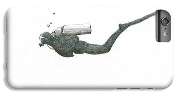 Scuba Diving iPhone 8 Plus Case - Scuba Diver  by Juan Bosco