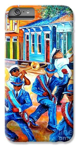 Trombone iPhone 8 Plus Case - Second Line In Treme by Diane Millsap
