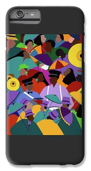 iPhone 8 Plus Case - Second Line New Orleans by Synthia SAINT JAMES