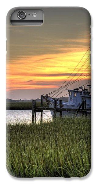 Shrimp Boats iPhone 8 Plus Case - Shrimp Boat Sunset by Dustin K Ryan