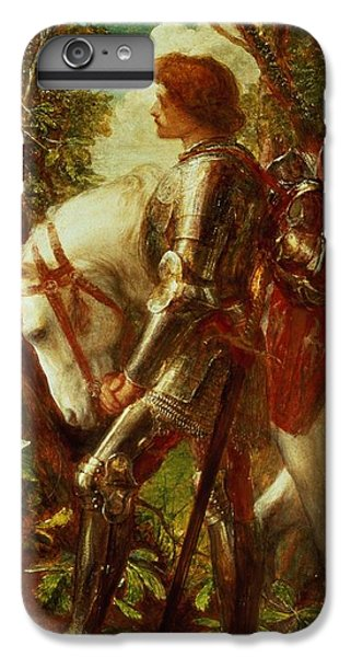 Knight iPhone 8 Plus Case - Sir Galahad by George Frederic Watts
