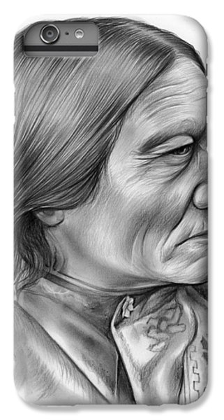 Bull iPhone 8 Plus Case - Sitting Bull by Greg Joens