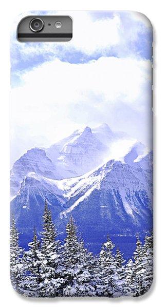 Mountain iPhone 8 Plus Case - Snowy Mountain by Elena Elisseeva