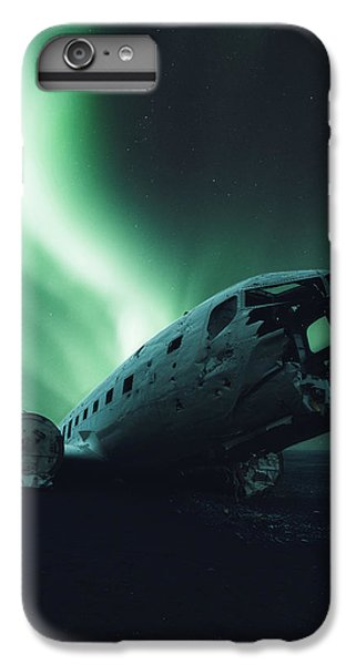 Airplane iPhone 8 Plus Case - Solheimsandur Crash Site by Tor-Ivar Naess