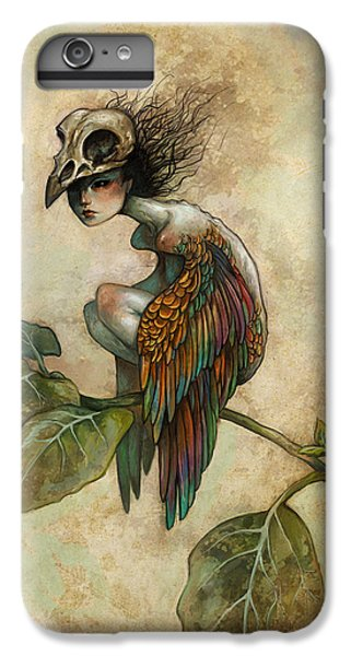 Animals iPhone 8 Plus Case - Soul Of A Bird by Caroline Jamhour