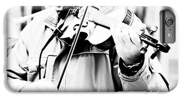 Violin iPhone 8 Plus Case - Sounds Of A Stranger by Gabriela Insuratelu