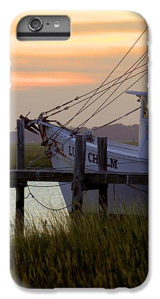 Shrimp Boats iPhone 8 Plus Case - Southern Shrimp Boat Sunset by Dustin K Ryan