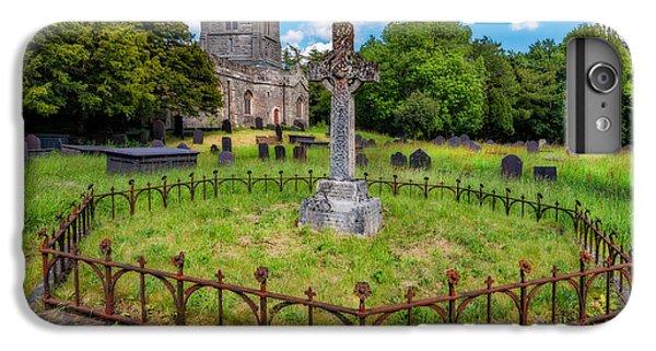 Celtic Cross iPhone 8 Plus Case - St Tegai Cross by Adrian Evans