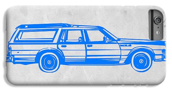 Car iPhone 8 Plus Case - Station Wagon by Naxart Studio