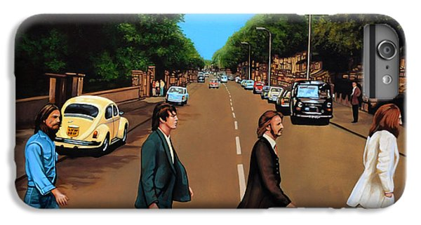 The iPhone 8 Plus Case - The Beatles Abbey Road by Paul Meijering
