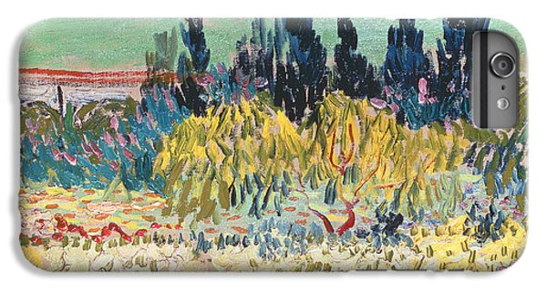 Garden iPhone 8 Plus Case - The Garden At Arles  by Vincent Van Gogh