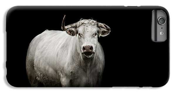 Bull iPhone 8 Plus Case - The Guardian by Paul Neville