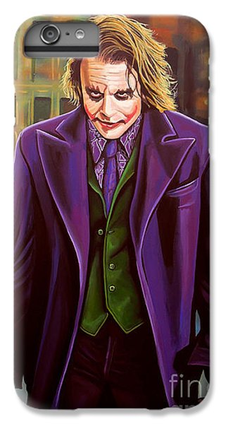 Knight iPhone 8 Plus Case - The Joker In Batman  by Paul Meijering