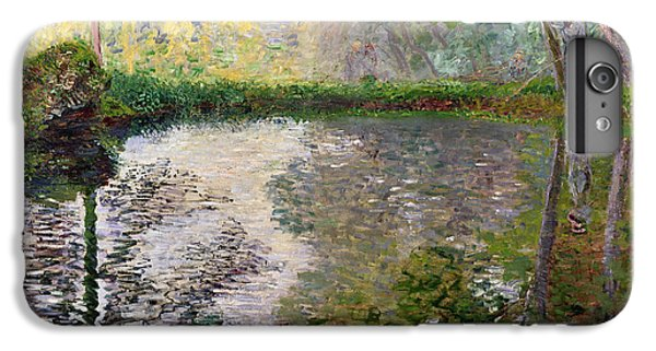 Impressionism iPhone 8 Plus Case - The Lake At Montgeron by Claude Monet