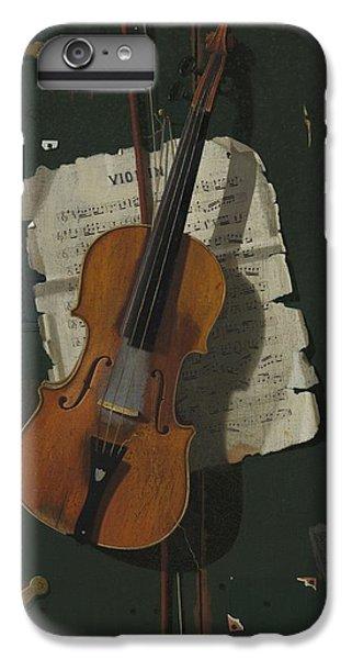 Violin iPhone 8 Plus Case - The Old Violin by John Frederick Peto