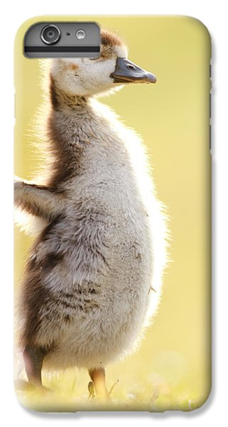 Gosling iPhone 8 Plus Case - The Pinguin Simulator by Roeselien Raimond