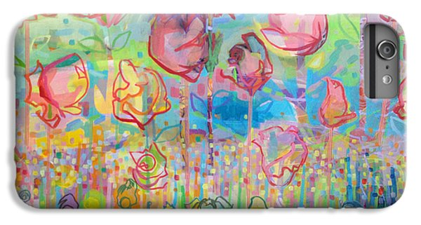 Rose iPhone 8 Plus Case - The Rose Garden, Love Wins by Kimberly Santini